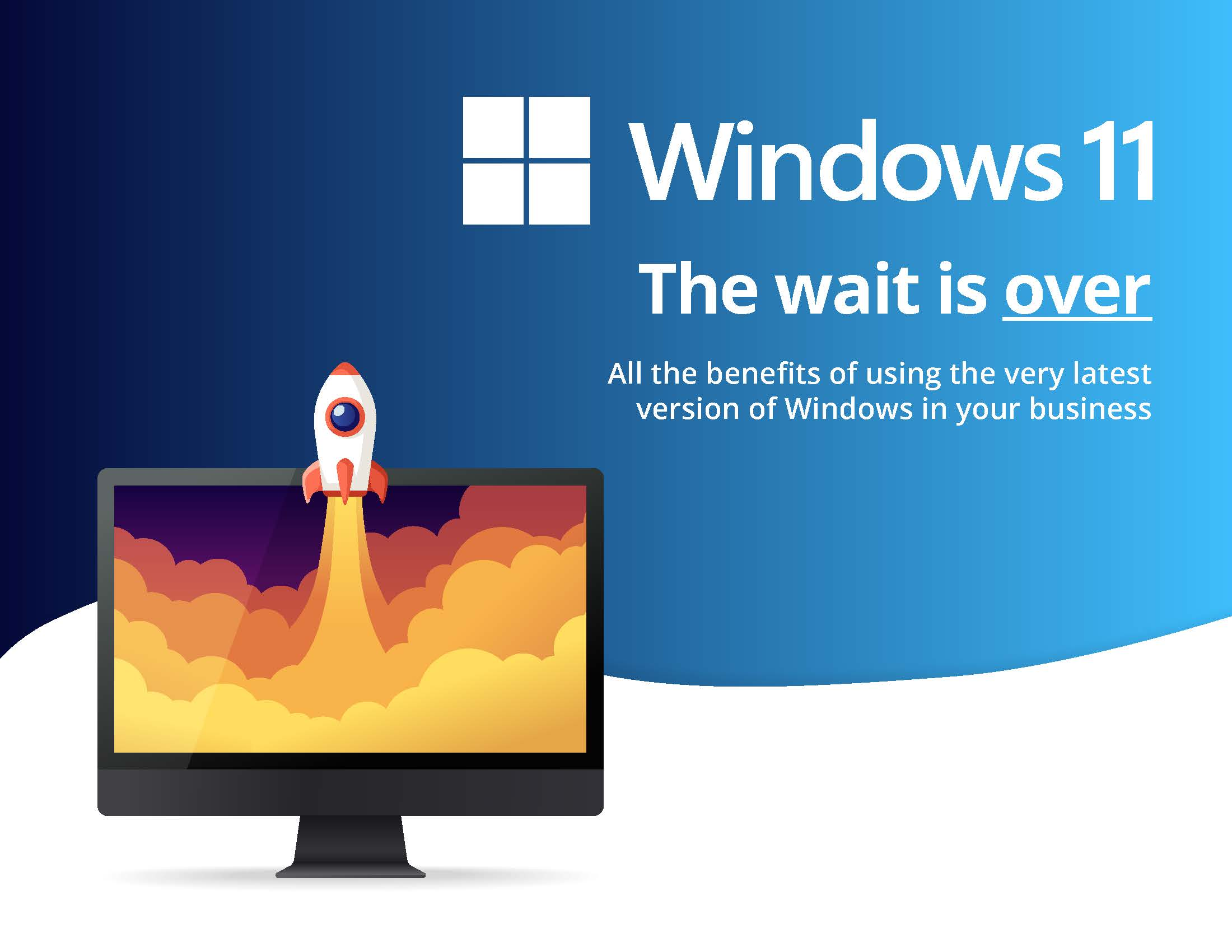 Windows 11: The wait is over
